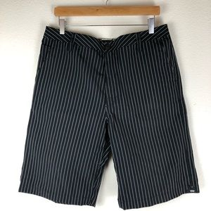 Vans Pinstriped Shorts Size 34